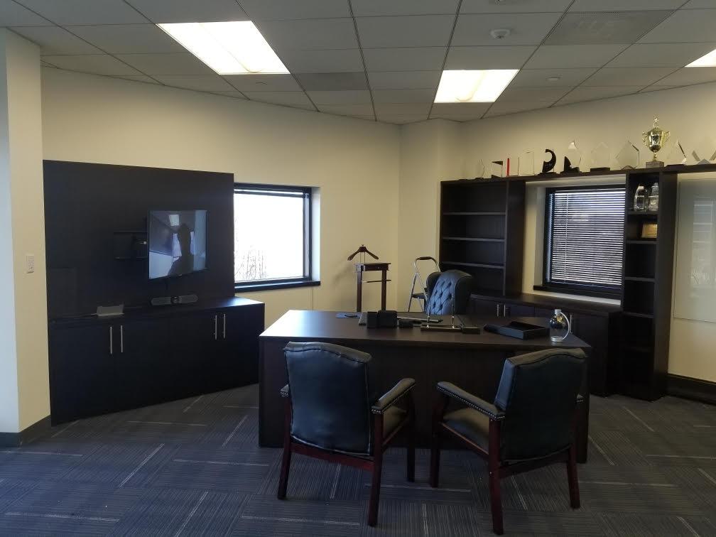 3 - Custom CEO office install