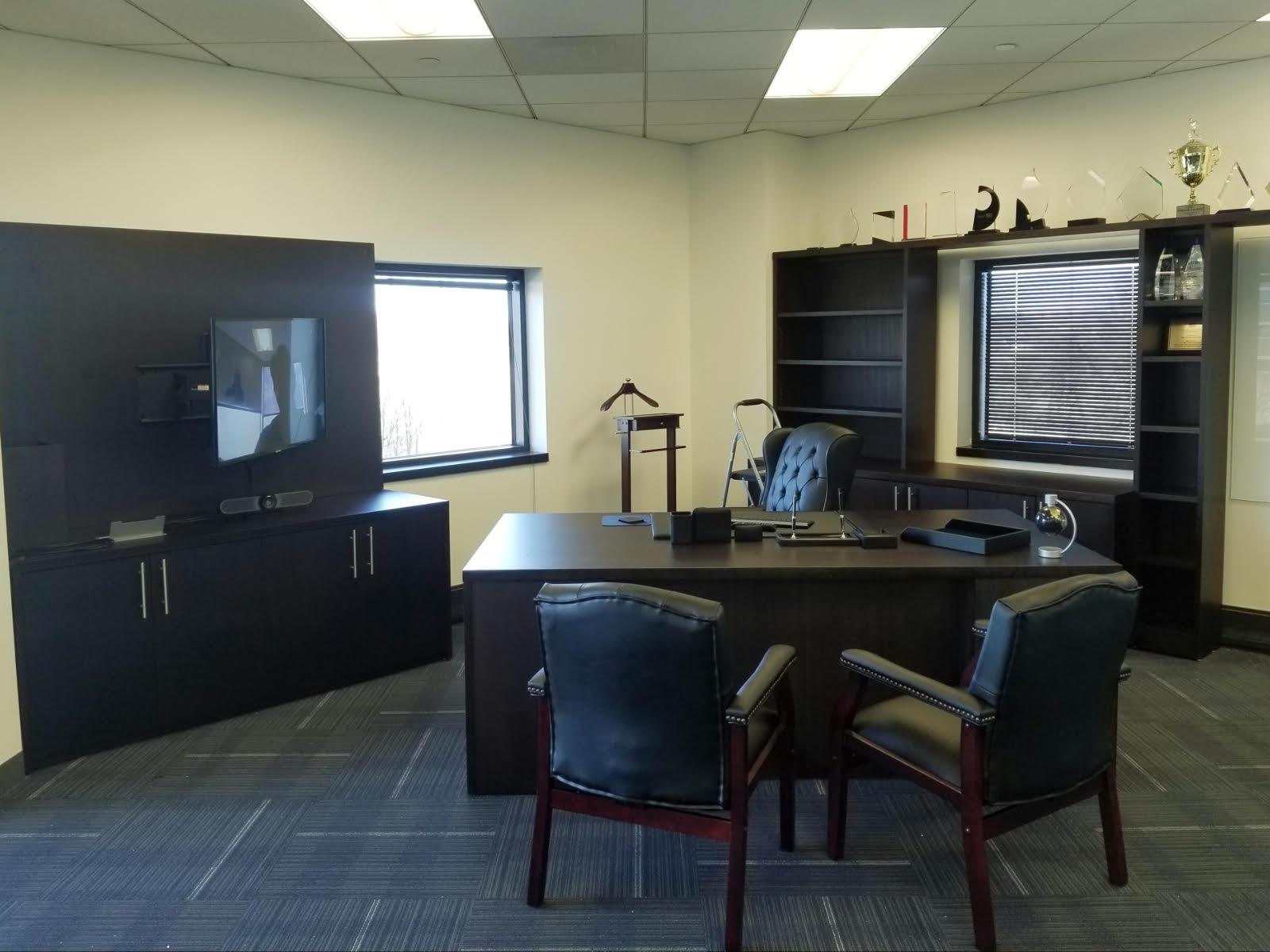 7 - Custom CEO office install
