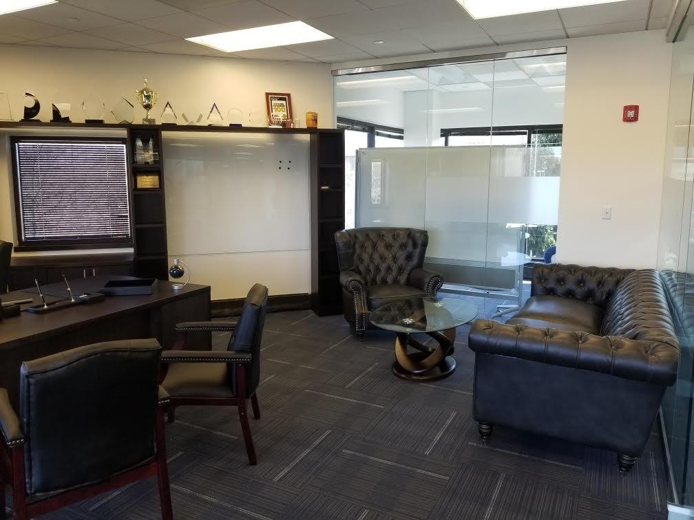 8 - Custom CEO office install
