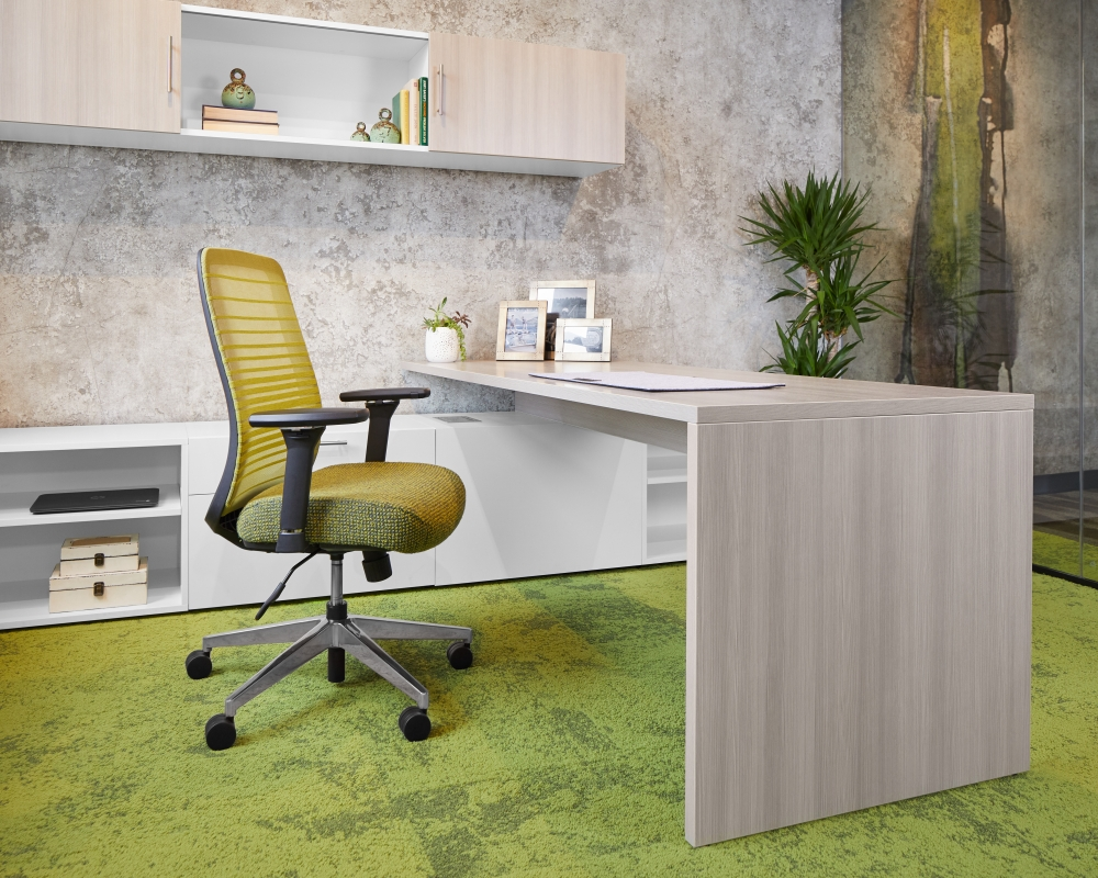 Calibrate Private Office Looks Likeatre and True White Bolton Seating0 - Calibrate