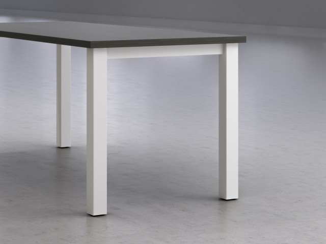 Calibrate detail Table N20Leg Looks20Likeatre Satin20White - Calibrate