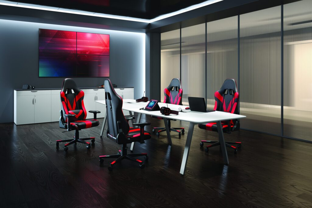 pr per 37801red 01^environment scaled 1 1024x682 - Create ultimate gaming experience with Gaming Chairs from Glenwood